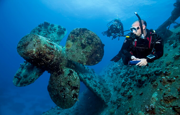 Wreck Diving Course SSI or PADI in Bali