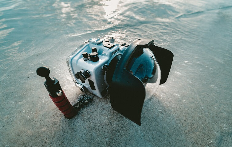 Photo and Video Diving Course SSI or PADI in Bali