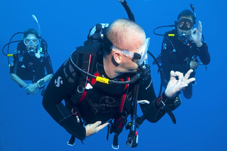 Drift Diving Course SSI or PADI in Bali