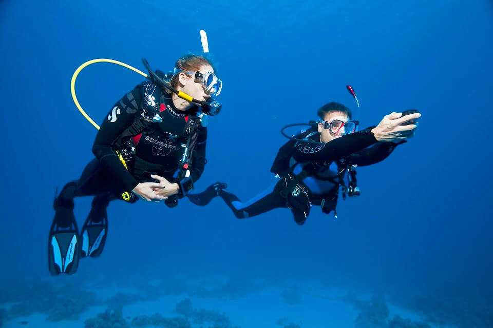 Navigation Diving Course SSI or PADI in Bali